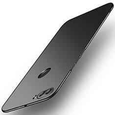 Coque Plastique Rigide Etui Housse Mat M02 pour Huawei Enjoy 8 Plus Noir
