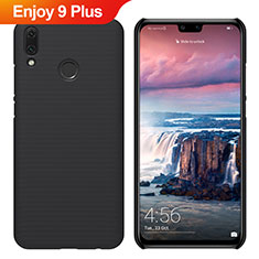 Coque Plastique Rigide Etui Housse Mat M02 pour Huawei Enjoy 9 Plus Noir
