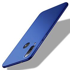 Coque Plastique Rigide Etui Housse Mat M02 pour Huawei Enjoy 9s Bleu