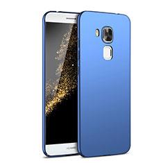Coque Plastique Rigide Etui Housse Mat M02 pour Huawei G9 Plus Bleu