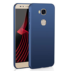 Coque Plastique Rigide Etui Housse Mat M02 pour Huawei GR5 Bleu