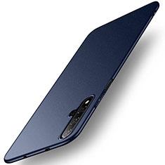 Coque Plastique Rigide Etui Housse Mat M02 pour Huawei Honor 20 Bleu