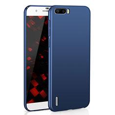 Coque Plastique Rigide Etui Housse Mat M02 pour Huawei Honor 6 Plus Bleu
