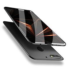 Coque Plastique Rigide Etui Housse Mat M02 pour Huawei Honor 7C Noir