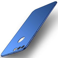 Coque Plastique Rigide Etui Housse Mat M02 pour Huawei Honor 8 Bleu