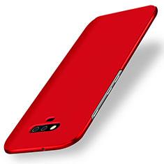 Coque Plastique Rigide Etui Housse Mat M02 pour Huawei Honor Magic Rouge