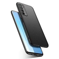 Coque Plastique Rigide Etui Housse Mat M02 pour Huawei Honor Play4 5G Noir