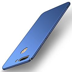 Coque Plastique Rigide Etui Housse Mat M02 pour Huawei Honor V9 Bleu