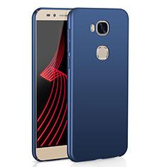 Coque Plastique Rigide Etui Housse Mat M02 pour Huawei Honor X5 Bleu