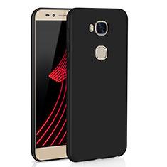 Coque Plastique Rigide Etui Housse Mat M02 pour Huawei Honor X5 Noir