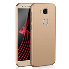 Coque Plastique Rigide Etui Housse Mat M02 pour Huawei Honor X5 Or