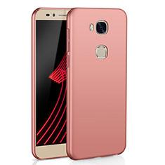 Coque Plastique Rigide Etui Housse Mat M02 pour Huawei Honor X5 Or Rose