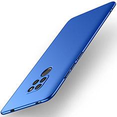 Coque Plastique Rigide Etui Housse Mat M02 pour Huawei Mate 20 Bleu