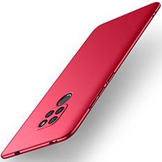 Coque Plastique Rigide Etui Housse Mat M02 pour Huawei Mate 20 Rouge