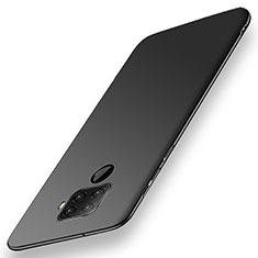 Coque Plastique Rigide Etui Housse Mat M02 pour Huawei Mate 30 Lite Noir