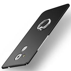 Coque Plastique Rigide Etui Housse Mat M02 pour Huawei Mate 8 Noir