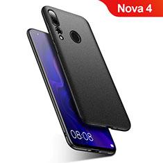 Coque Plastique Rigide Etui Housse Mat M02 pour Huawei Nova 4 Noir