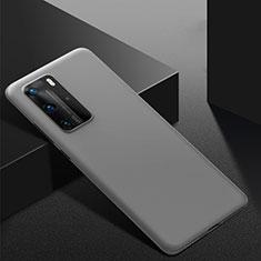 Coque Plastique Rigide Etui Housse Mat M02 pour Huawei P40 Pro Gris