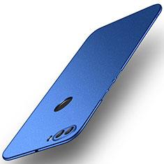 Coque Plastique Rigide Etui Housse Mat M02 pour Huawei Y9 (2018) Bleu