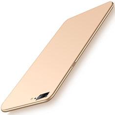 Coque Plastique Rigide Etui Housse Mat M02 pour OnePlus 5 Or