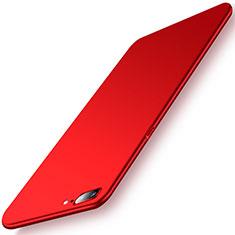 Coque Plastique Rigide Etui Housse Mat M02 pour OnePlus 5 Rouge