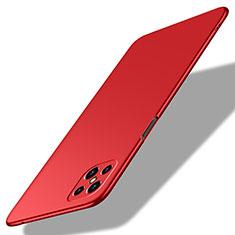 Coque Plastique Rigide Etui Housse Mat M02 pour Oppo A92s 5G Rouge