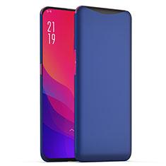Coque Plastique Rigide Etui Housse Mat M02 pour Oppo Find X Super Flash Edition Bleu