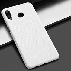 Coque Plastique Rigide Etui Housse Mat M02 pour Samsung Galaxy A6s Blanc