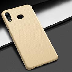Coque Plastique Rigide Etui Housse Mat M02 pour Samsung Galaxy A6s Or