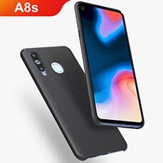 Coque Plastique Rigide Etui Housse Mat M02 pour Samsung Galaxy A8s SM-G8870 Noir