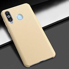 Coque Plastique Rigide Etui Housse Mat M02 pour Samsung Galaxy A8s SM-G8870 Or