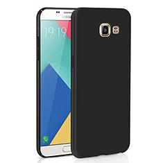 Coque Plastique Rigide Etui Housse Mat M02 pour Samsung Galaxy A9 Pro (2016) SM-A9100 Noir