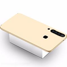 Coque Plastique Rigide Etui Housse Mat M02 pour Samsung Galaxy A9s Or