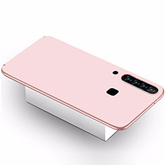 Coque Plastique Rigide Etui Housse Mat M02 pour Samsung Galaxy A9s Rose