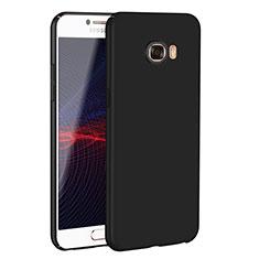 Coque Plastique Rigide Etui Housse Mat M02 pour Samsung Galaxy C7 SM-C7000 Noir