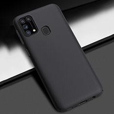 Coque Plastique Rigide Etui Housse Mat M02 pour Samsung Galaxy M21s Noir