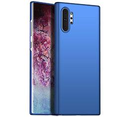 Coque Plastique Rigide Etui Housse Mat M02 pour Samsung Galaxy Note 10 Plus Bleu