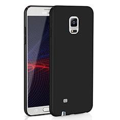 Coque Plastique Rigide Etui Housse Mat M02 pour Samsung Galaxy Note 4 Duos N9100 Dual SIM Noir