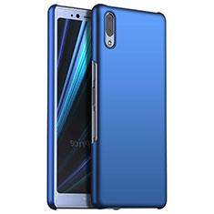 Coque Plastique Rigide Etui Housse Mat M02 pour Sony Xperia L3 Bleu