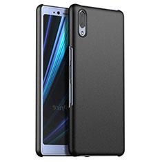 Coque Plastique Rigide Etui Housse Mat M02 pour Sony Xperia L3 Noir