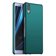 Coque Plastique Rigide Etui Housse Mat M02 pour Sony Xperia L3 Vert