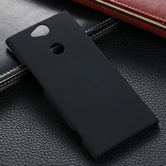 Coque Plastique Rigide Etui Housse Mat M02 pour Sony Xperia XA2 Noir
