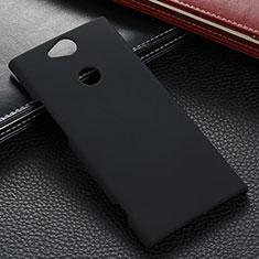Coque Plastique Rigide Etui Housse Mat M02 pour Sony Xperia XA2 Plus Noir