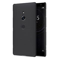 Coque Plastique Rigide Etui Housse Mat M02 pour Sony Xperia XZ2 Noir