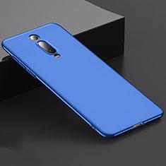Coque Plastique Rigide Etui Housse Mat M02 pour Xiaomi Mi 9T Bleu