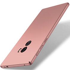Coque Plastique Rigide Etui Housse Mat M02 pour Xiaomi Mi Mix Or Rose