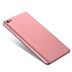 Coque Plastique Rigide Etui Housse Mat M02 pour Xiaomi Mi Note Or Rose