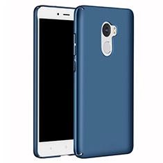 Coque Plastique Rigide Etui Housse Mat M02 pour Xiaomi Redmi 4 Standard Edition Bleu