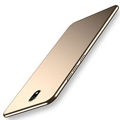 Coque Plastique Rigide Etui Housse Mat M02 pour Xiaomi Redmi 8A Or