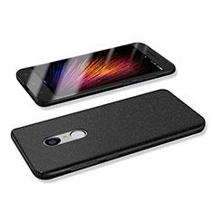 Coque Plastique Rigide Etui Housse Mat M02 pour Xiaomi Redmi Note 4 Standard Edition Noir